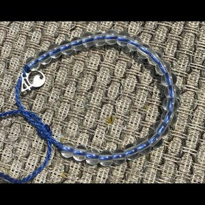 New 4Ocean signature blue bracelet recycled new